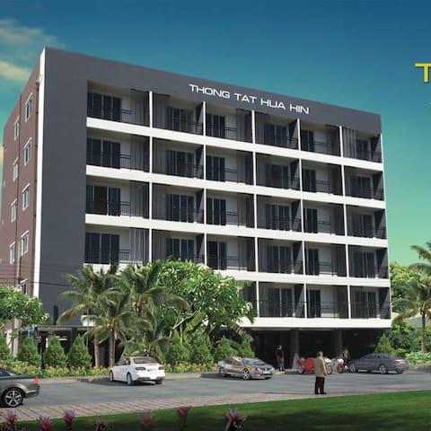 """Hua Hin """"Thong Tat"""" Clean Serviced Hotel Rooms"""