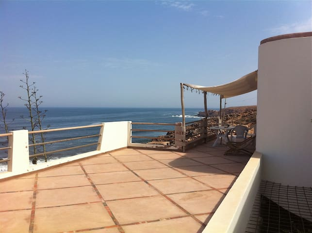 Terrace On The Ocean, SW Morocco 1 - Mirleft - Casa