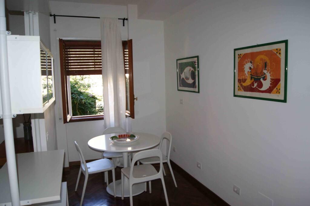 The living corner