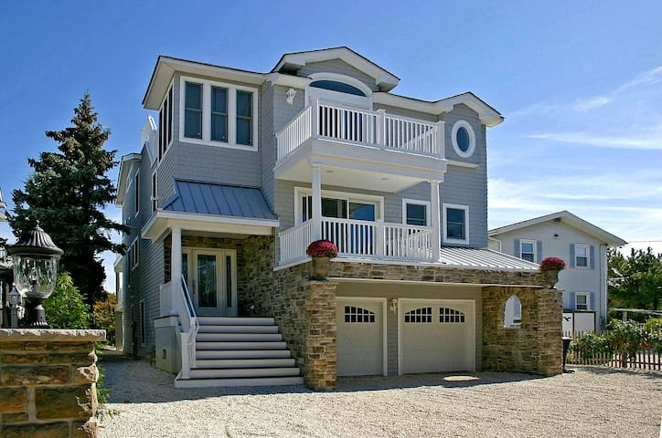 Luxury Oceanfront Beach House - LBI - Barnegat Light - Casa