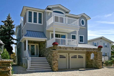 Luxury Oceanfront Beach House - LBI - Barnegat Light