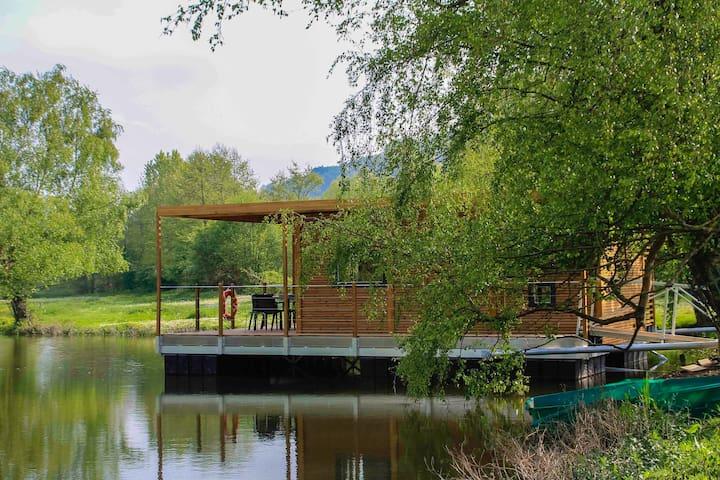 Cabane flottante en Picardie - Beauchamps