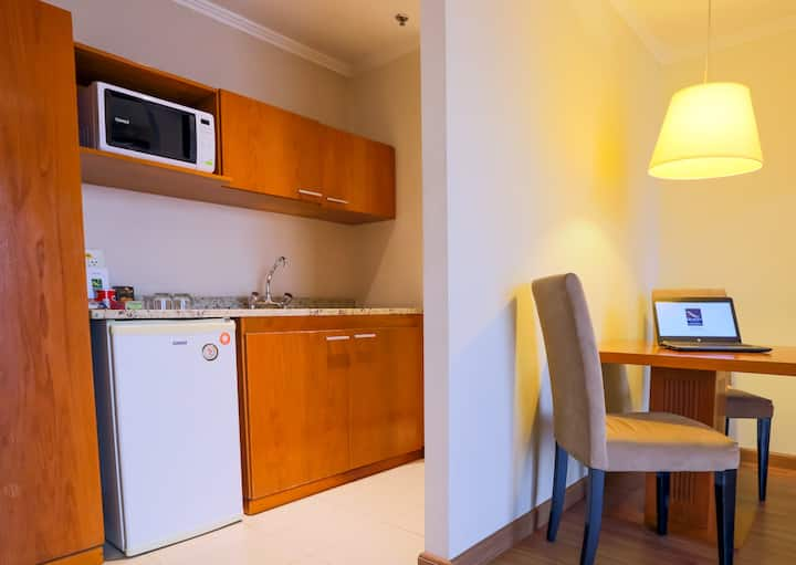 Flat 01 Dormitório Vila Olimpia