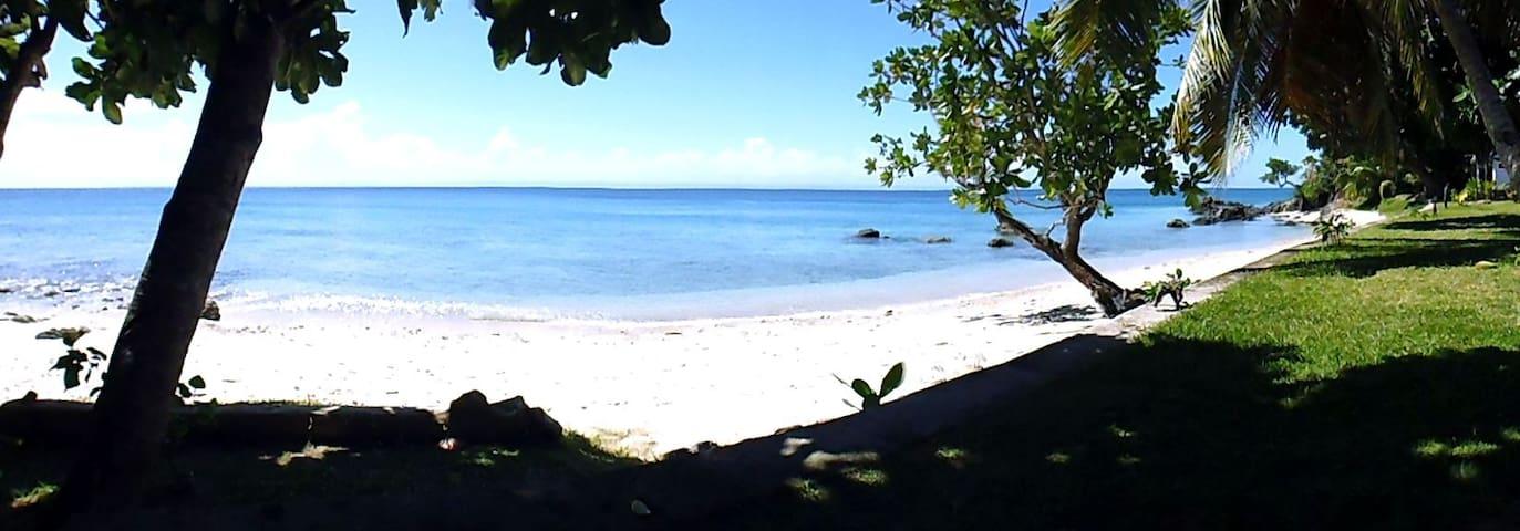 Villa bord de mer île Sainte Marie
