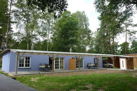 Ferienhaus direkt am Grimnitzsee - Joachimsthal
