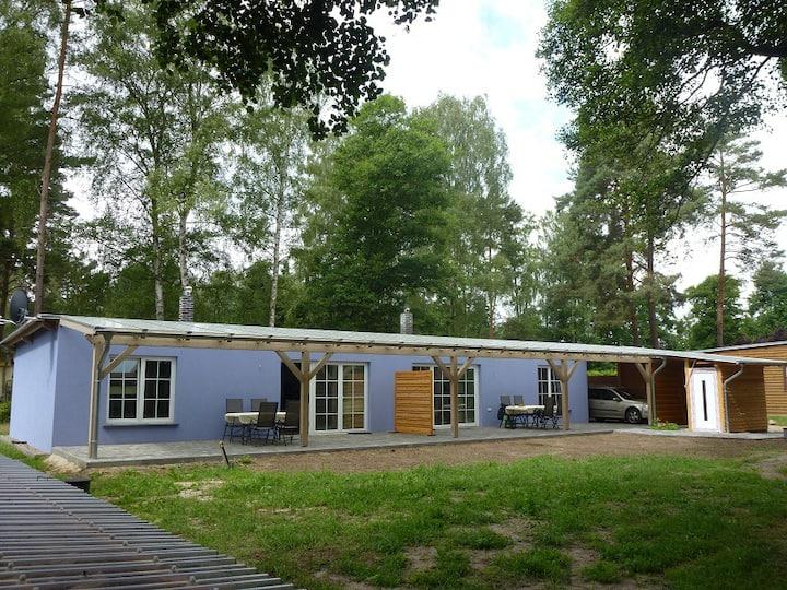 Ferienhaus direkt am Grimnitzsee