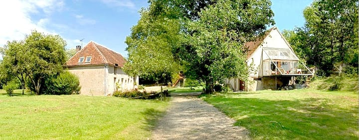 Ancien mill, charming cottage