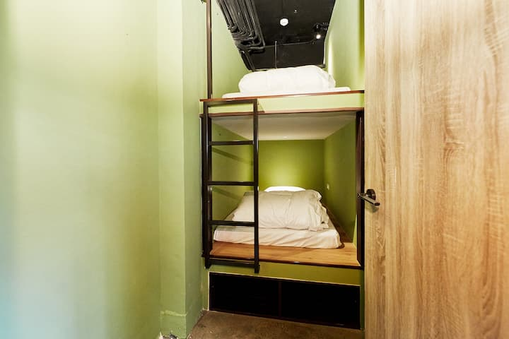 A21/BUNK BED FOR 2/24HR SELF CHECK-IN/METRO NEARBY