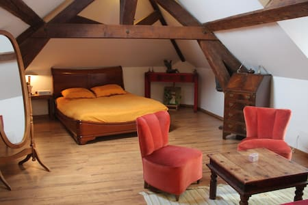 Room for 2-4 persons under the roof - Triel-sur-Seine - Bed & Breakfast