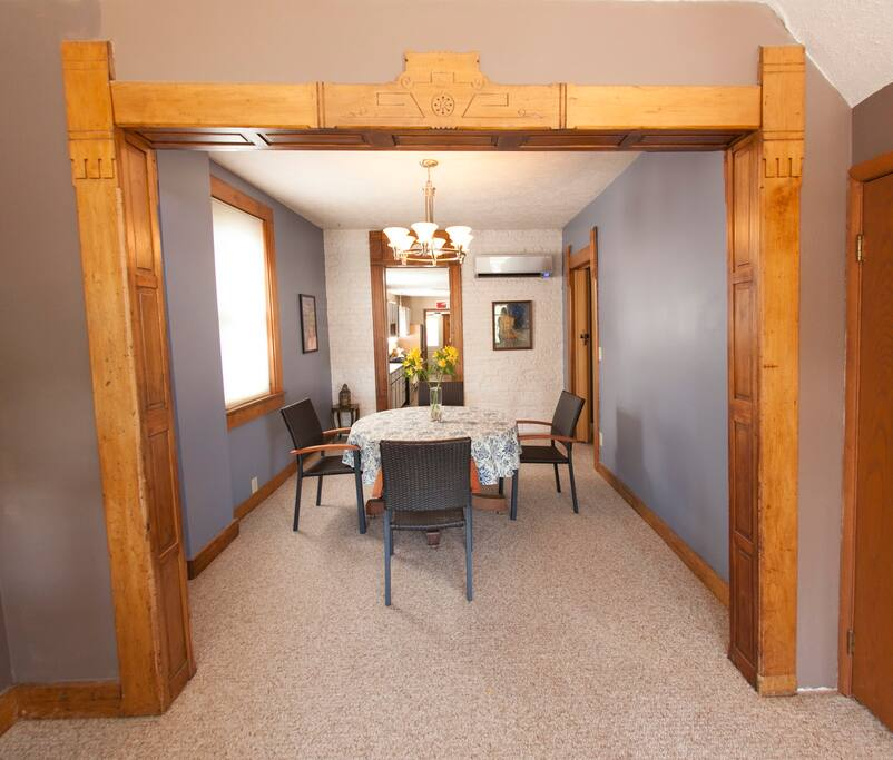 Dining Room and Game Room