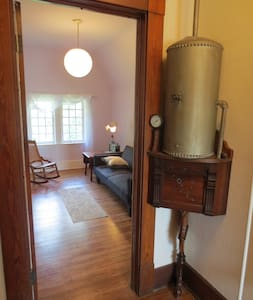 Private Victorian suite with two rooms and a bath - Cleveland Heights