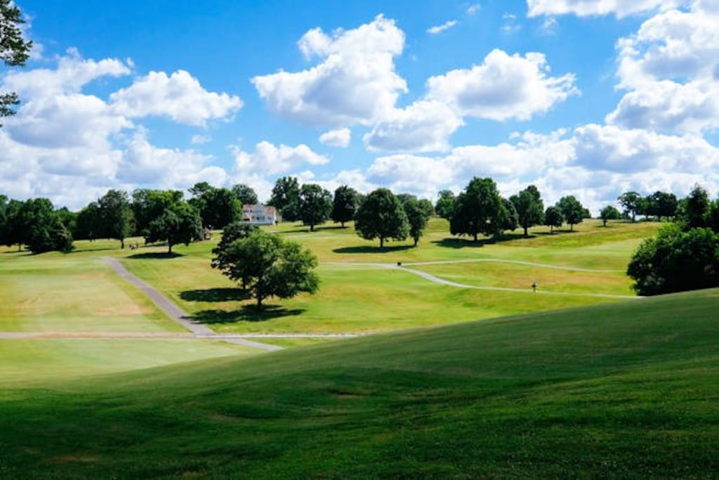 This is your view of historic Shelby golf course, seriously
