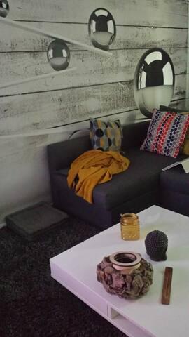 Appartement super cosy à proximité de l'aéroport.