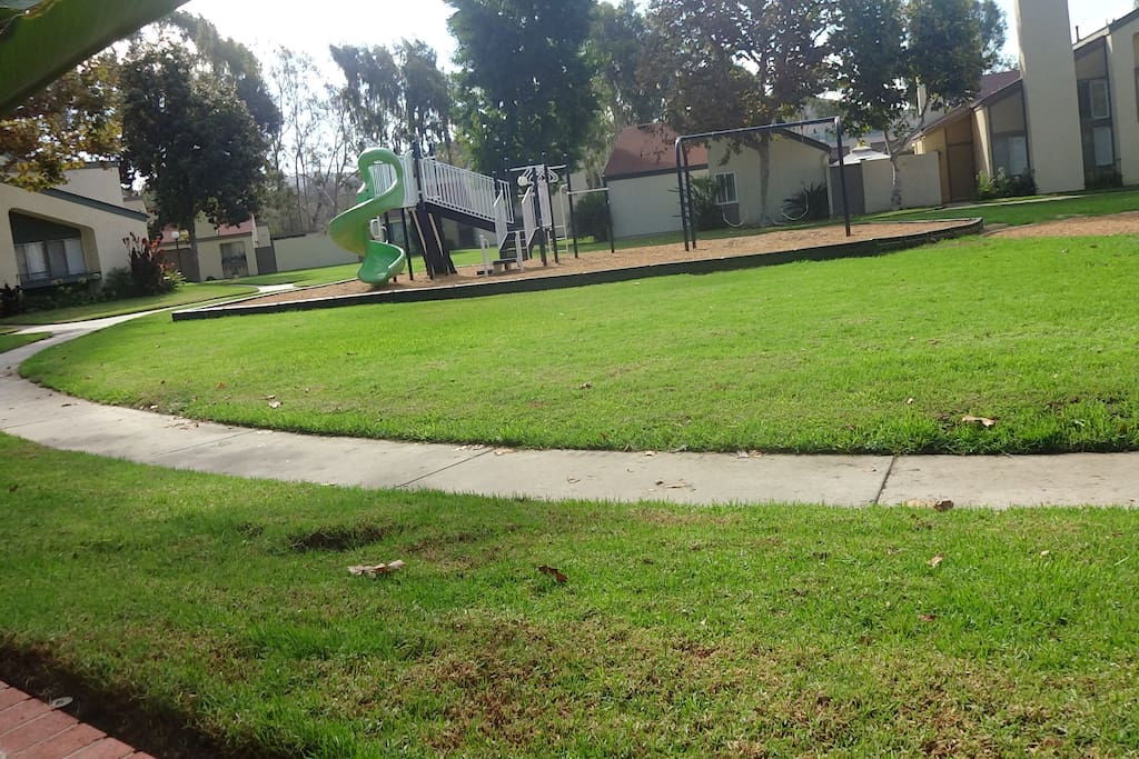 BRAND NEW PARK! Just open the front door and the kids can safely go play...