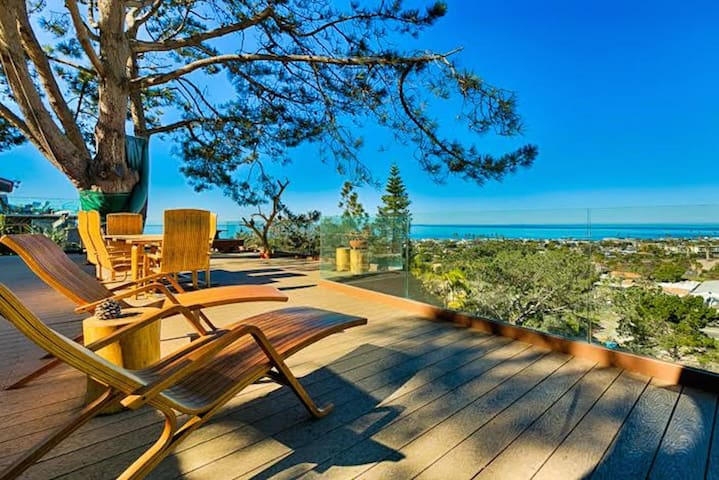 Panoramic Ocean View Home in Olde Del Mar
