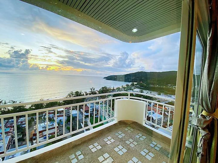 Karon high rise sea view one bedroom