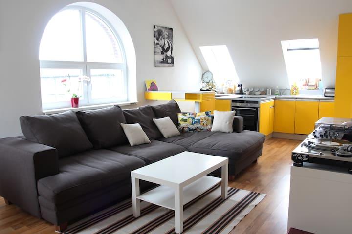 Bright Apartment close to theCenter - Bratislava - Nové Mesto