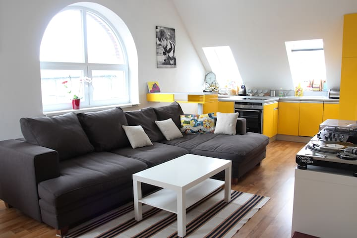 Bright Apartment close to theCenter - Bratislava - Nové Mesto - Apartemen