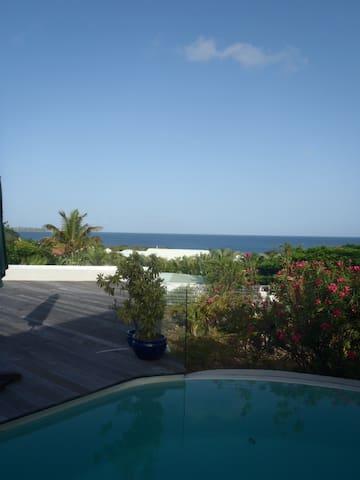 Villa superbe vue mer des Caraïbes - Marigot - Rumah