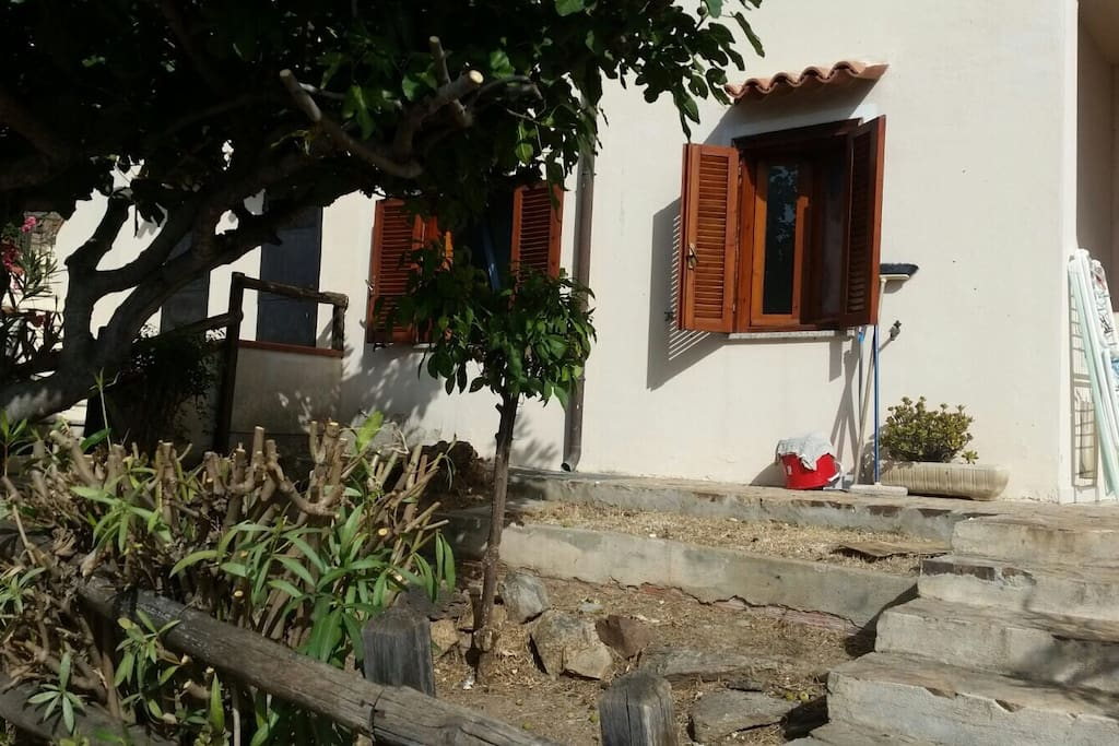 Casa vista mare a 1km dalla spiaggia case in affitto a for Affitto case a budoni