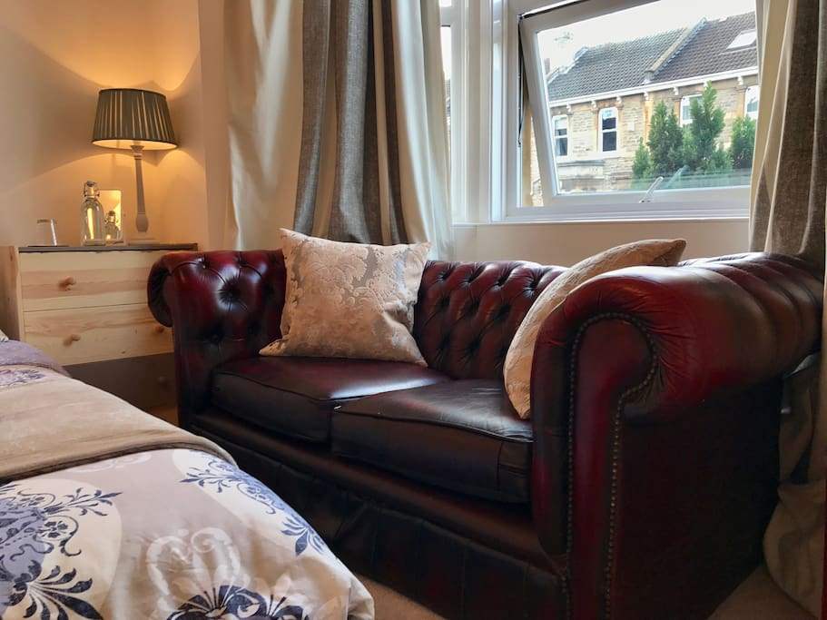 Classic sofa - great for lounging after a busy day