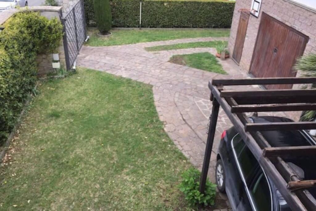 Grande giardino vivibile