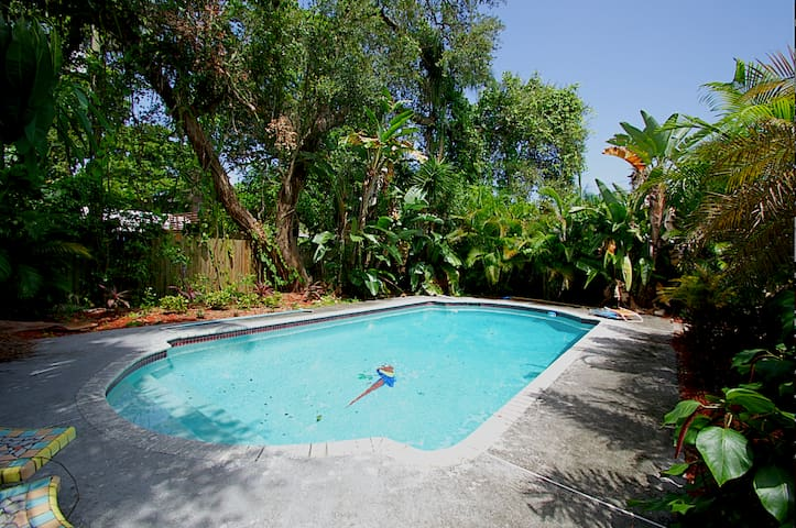 +Pool+ Townhouse 2Bed 1.5Bath East Lauderdale :] - Fort Lauderdale - House