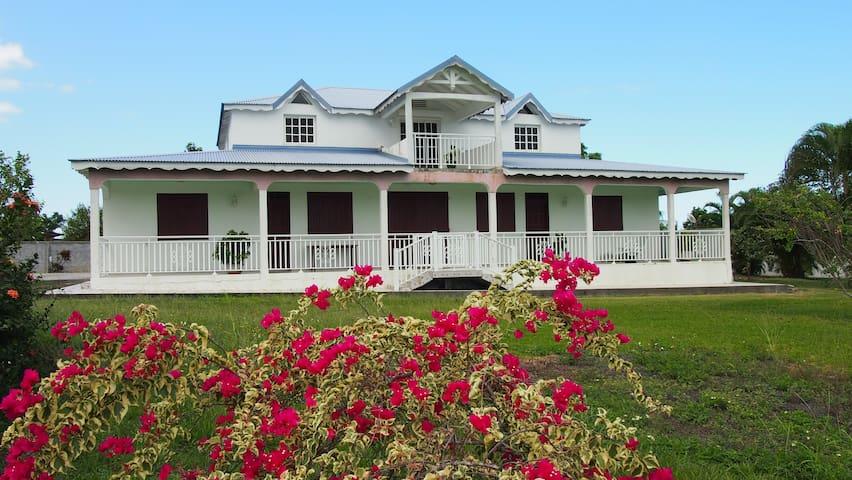 Haut de villa Sainte-Rose - Sainte Rose - Huis