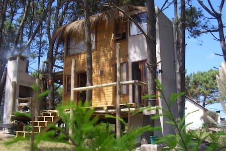Hermosa cabaña lugar paradisíaco - Maison