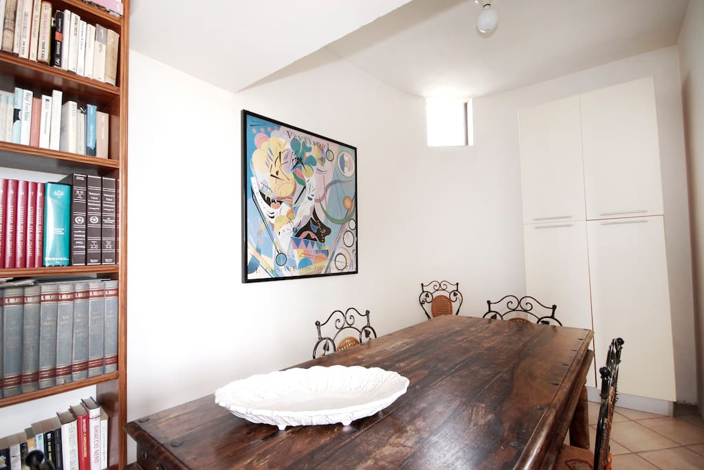 """Soggiorno,  appartamento """"Il Corbezzolo"""" - piano terra - """"Casale del Levriero"""""""