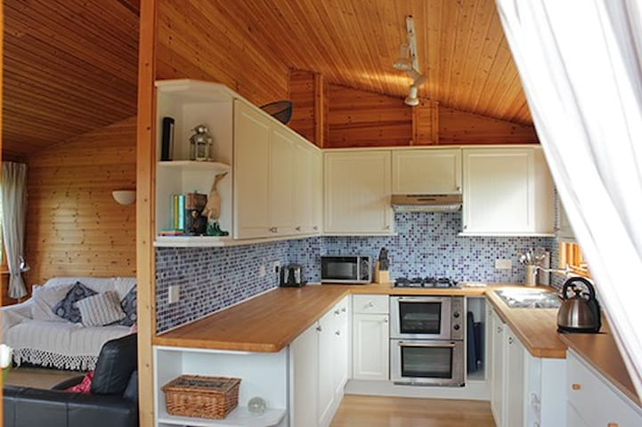 Peaceful Timber Lodge in Pembrokeshire - Narberth
