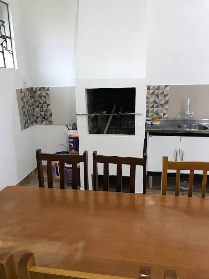 Casa na praia Atlântida Sul, com ar cond, sozinha