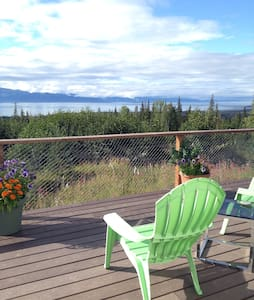 Idyllic Kachemak Bay View Yurt - Fritz Creek - Tenda