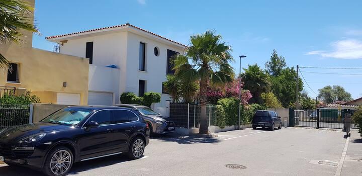 Villa 3 chambres à 5 min à pieds de la plage