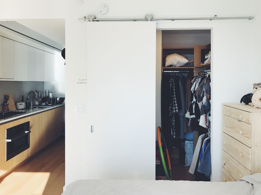 Walk-in closet (will be empty when you move in)