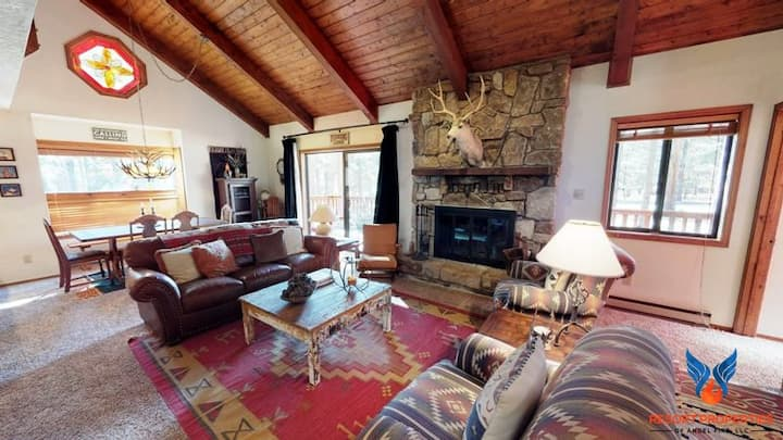 Large Deck w/ Grill; Wildlife Views; Fire Place! Whispering Pines