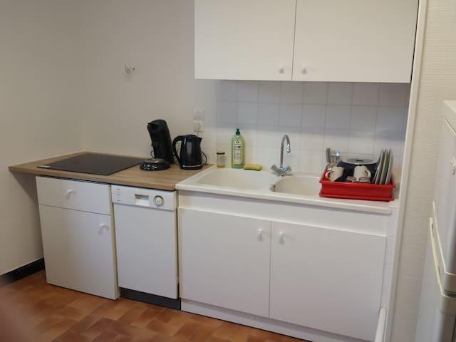 Quiet apartment and close to the center - La Bourboule - Leilighet