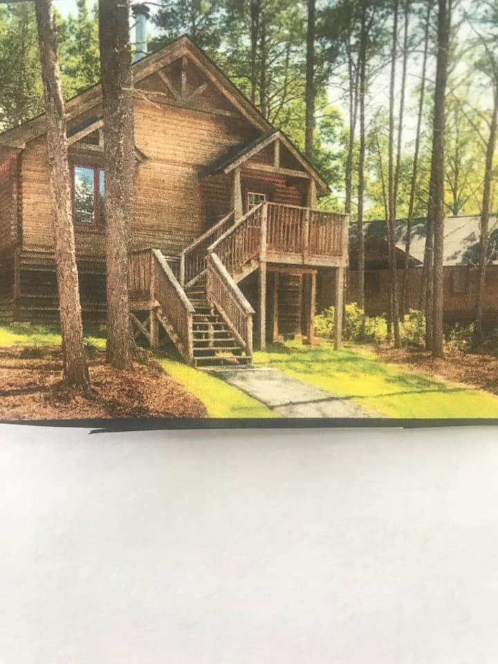 Shenandoah Crossing  3 Bedroom 2.5 bath Cabin