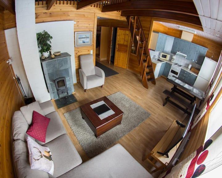 Row house apartment no 12 in Kaamanen Inari