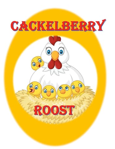 """Cackleberry Roost - """"free range chicken eggs"""""""