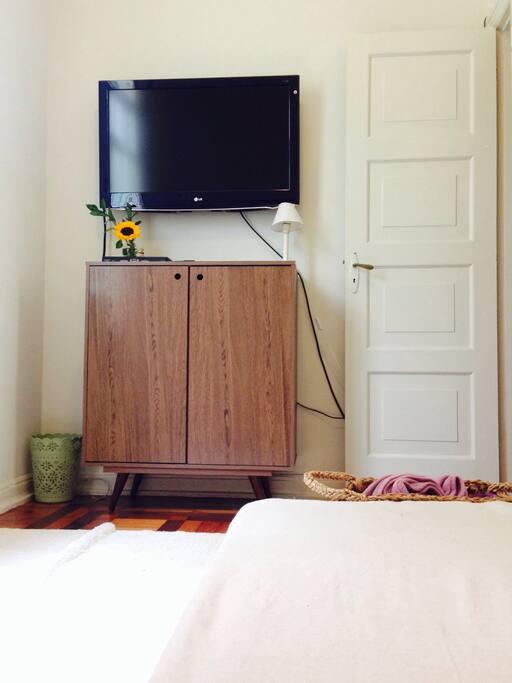 detalhe do quarto