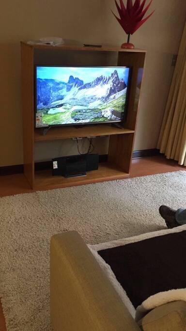 Rommie place has TV