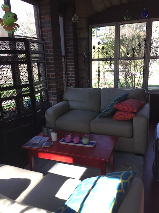 10-month side porch