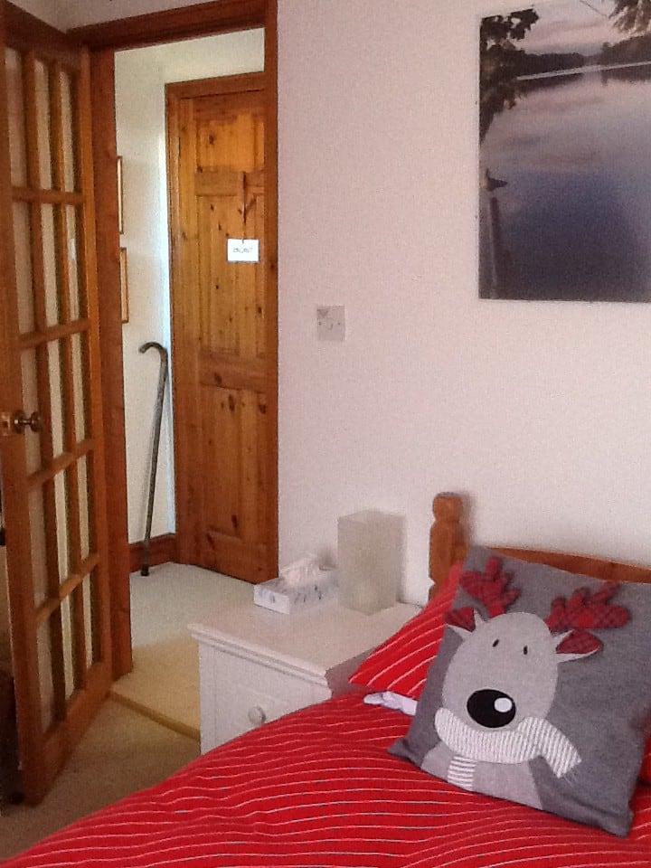 A single loft room