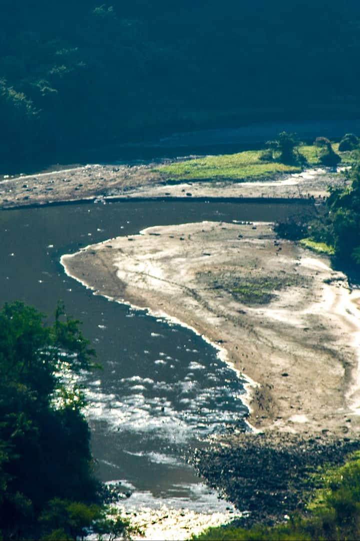 Panorámica del Río Santiago