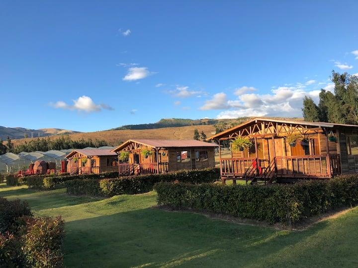 Cabañas Villa Inés Suesca