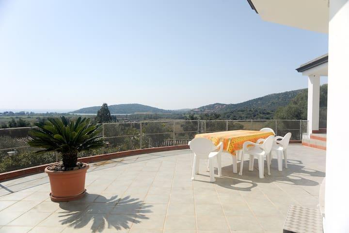 Chia, Sud Sardegna, panoramicissimo - Chia - Apartemen