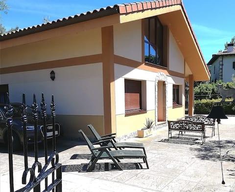 Apartamento con zona exterior y parking en Bakio