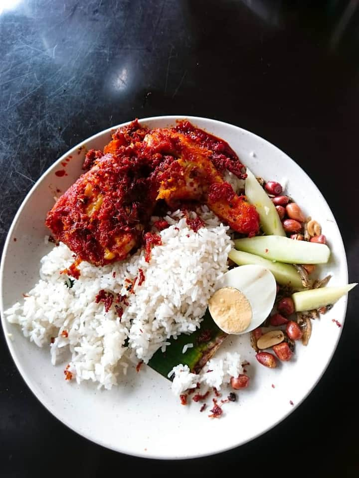 The king of Nasi Lemak