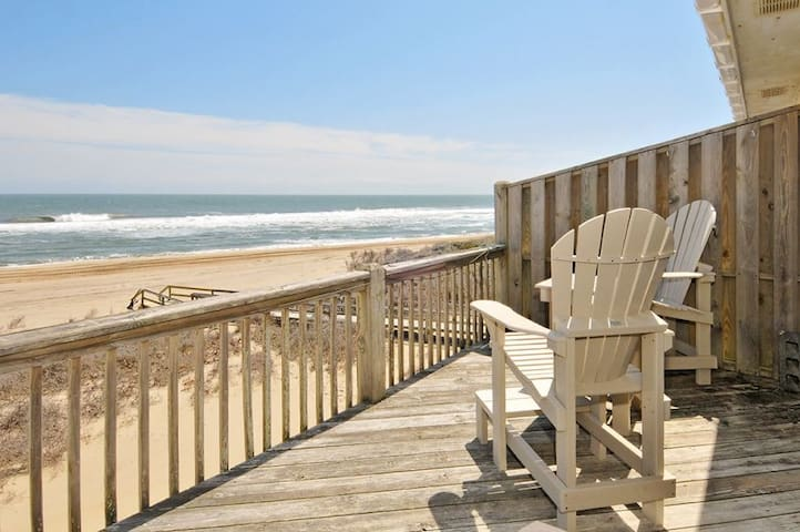 Starlights IV Oceanfront Condo in Buxton!